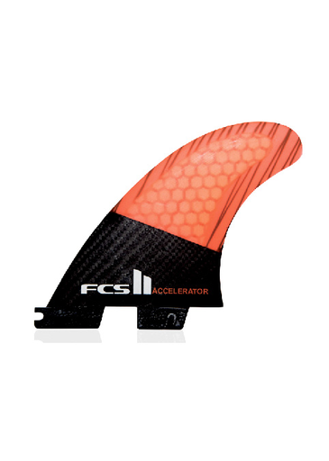 FCS II Accelerator Thruster PC Carbon Small Tri Fin Set