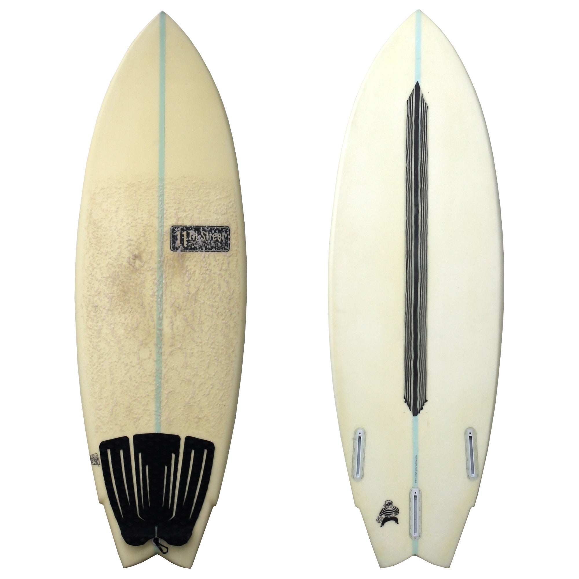 11th Street Surfboards The Thief 5'3 Used Surfboard