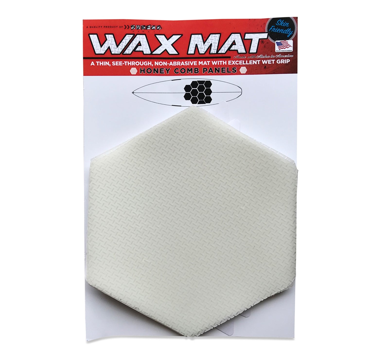 Wax Mat Honey Comb Kit (6 Panels, 2 Half Panels)