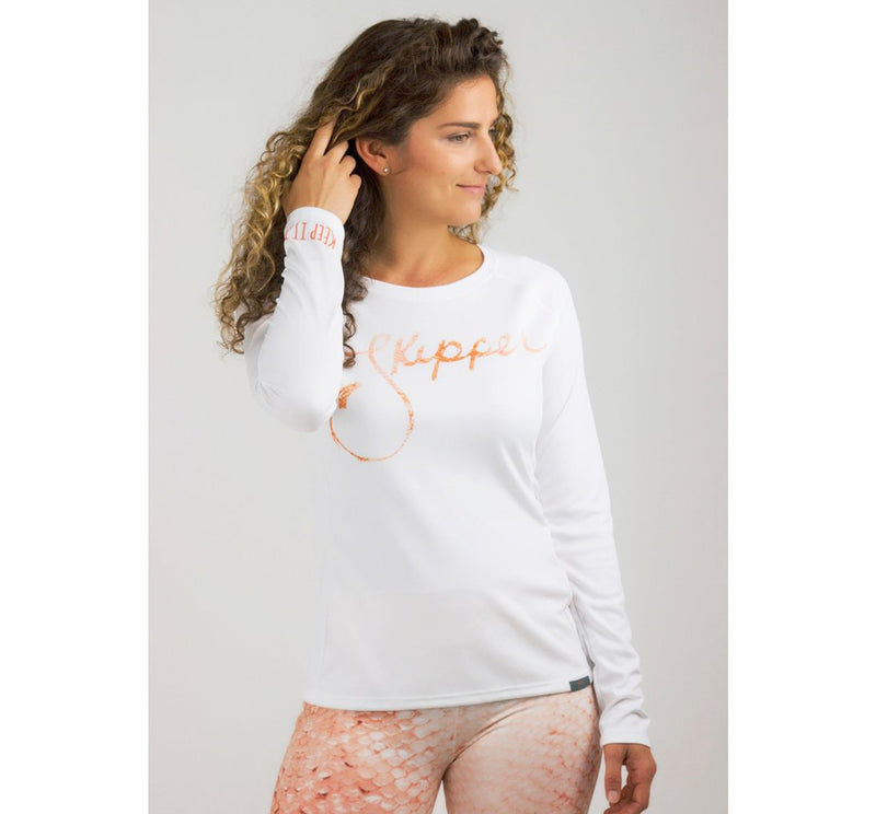 Reel Skipper Classic Performance Women's L/S Rashguard