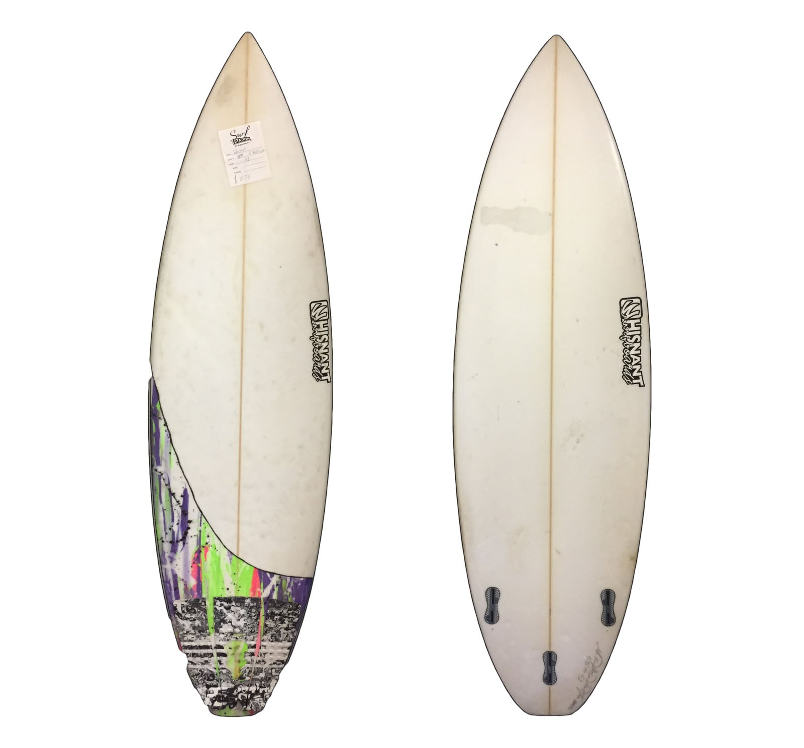 Whisnant Shortboard 5'8 Used Surfboard