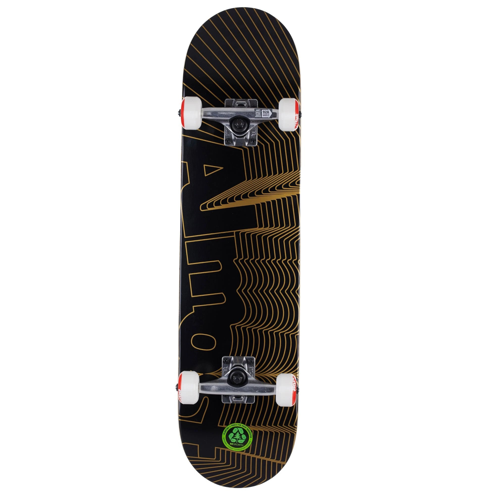 Almost Unknown Pleasures FP Complete Skateboard