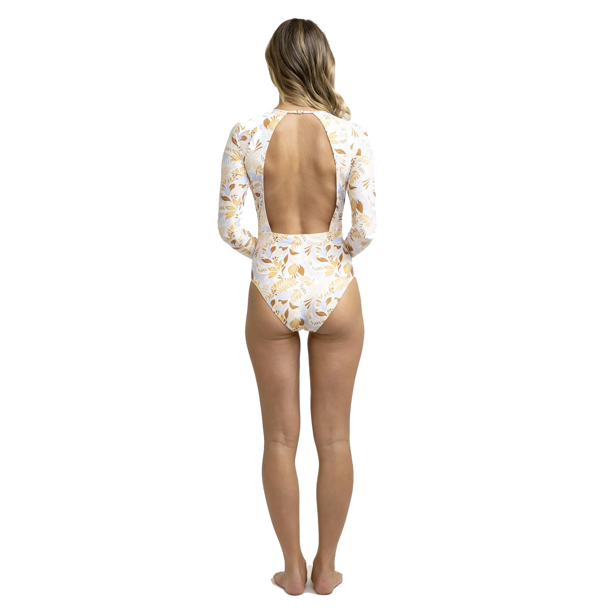 Rhythm Costa Rica Open Back L/S Women's One Piece
