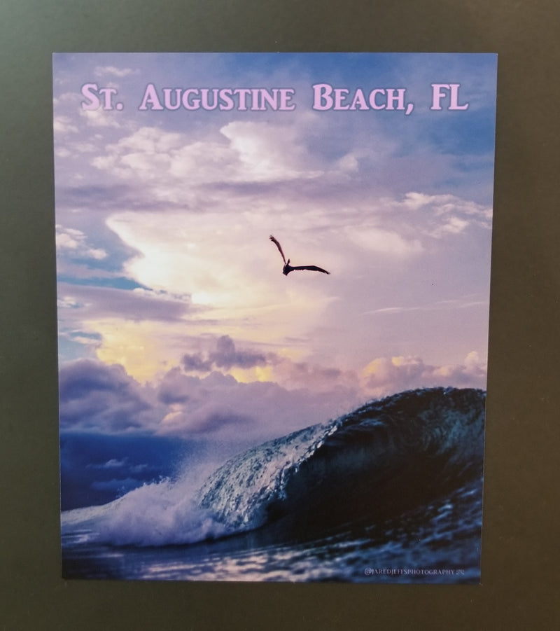 Saint Augustine Beach Sticker