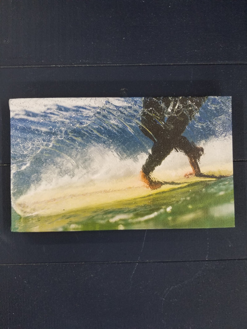 "Cross Steppin 6""x10"" Surf Print by Jared Jeffs"