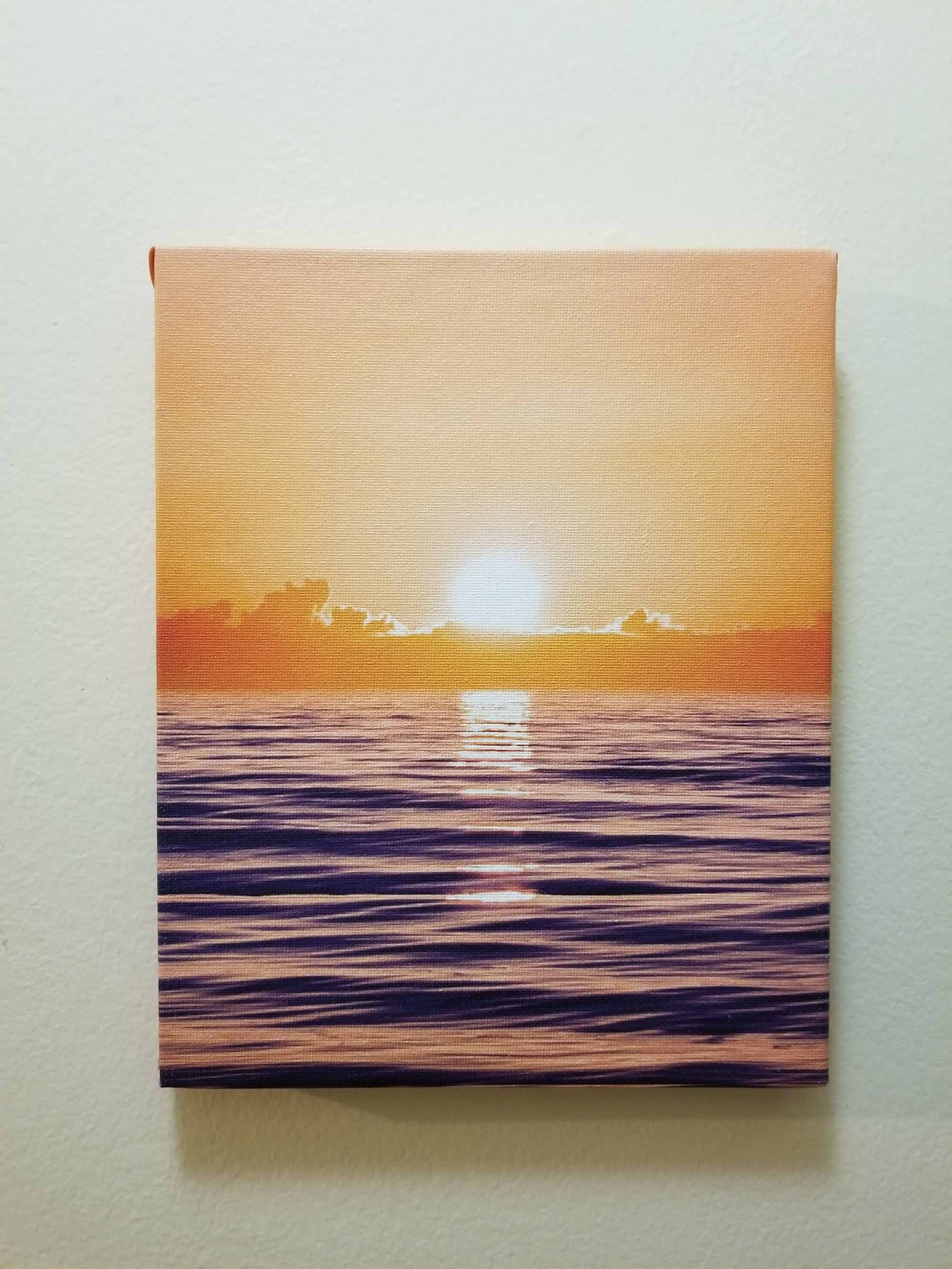 "Sunset 8""x10"" Surf Print by Jared Jeffs"