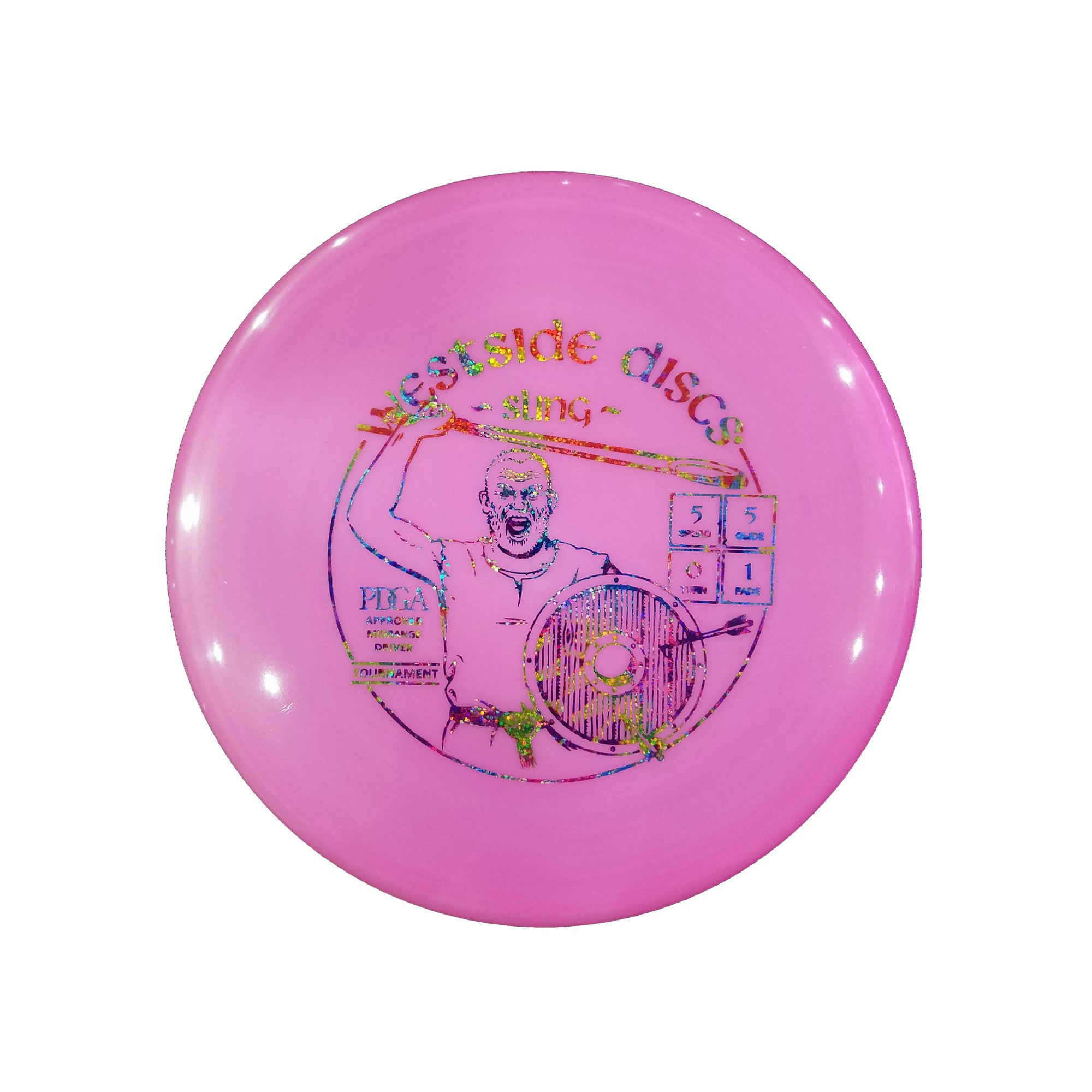 Westside Discs Tournament Sling Midrange Disc - 178g