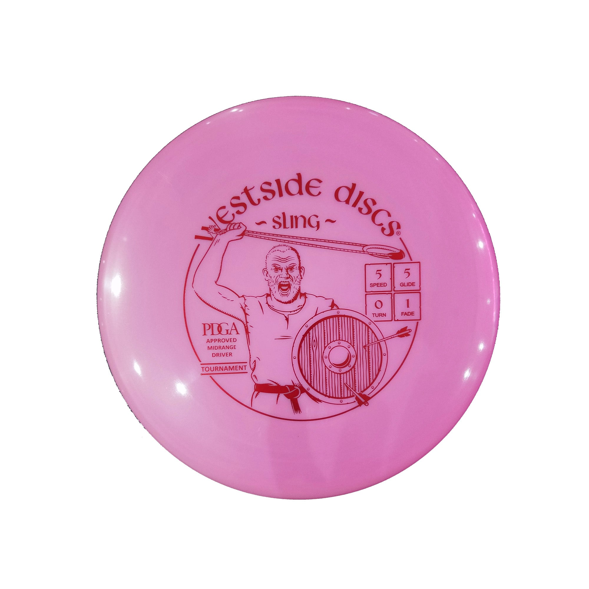 Westside Discs Tournament Sling Midrange Disc - 177g