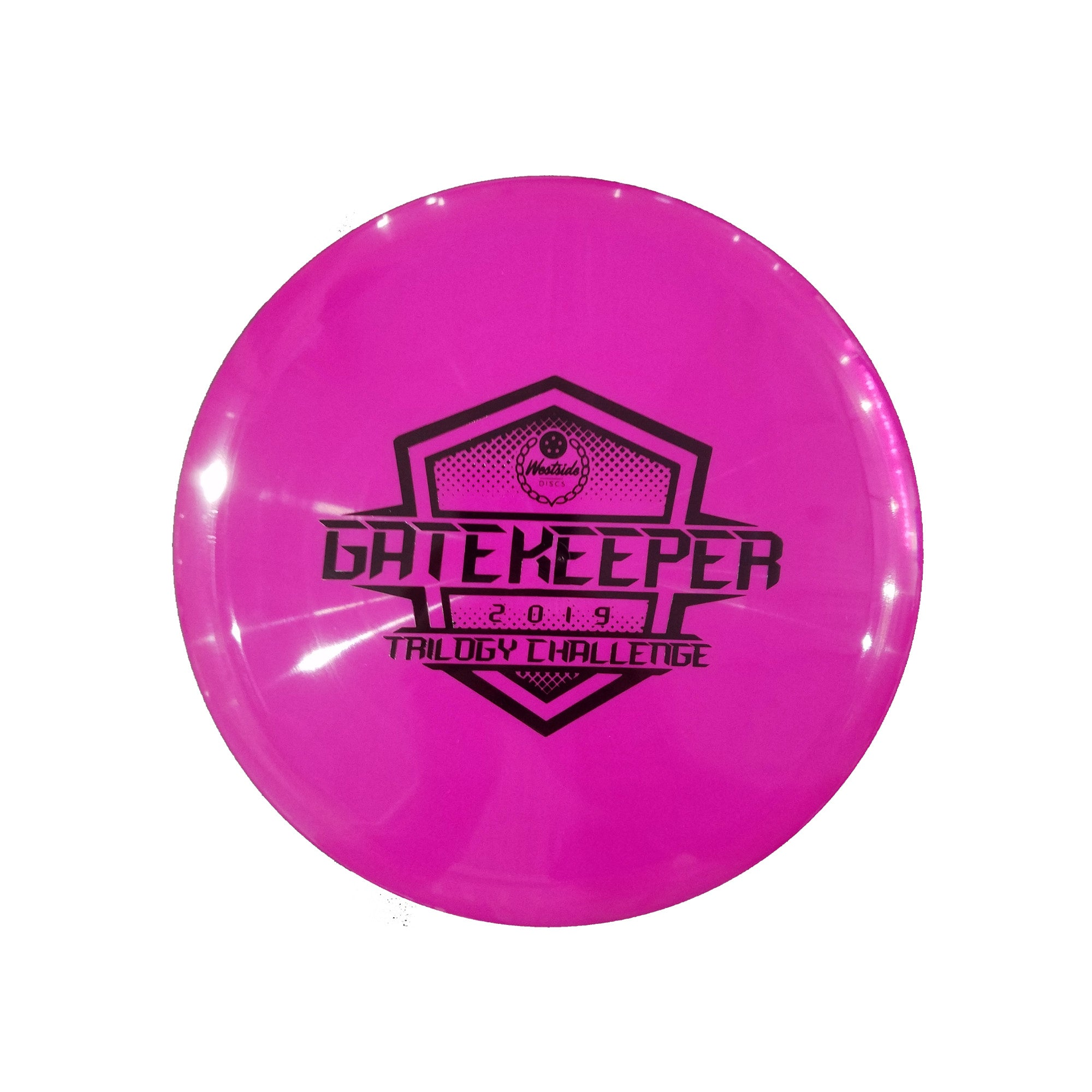 Westside Discs Tournament Gatekeeper Trilogy Challenge Stamp Midrange Disc - 176g