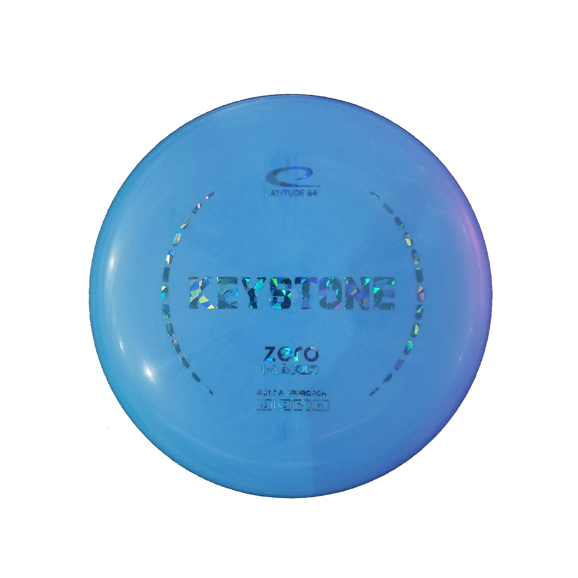 Latitude 64 Zero Hard Keystone Putter Disc - 175g