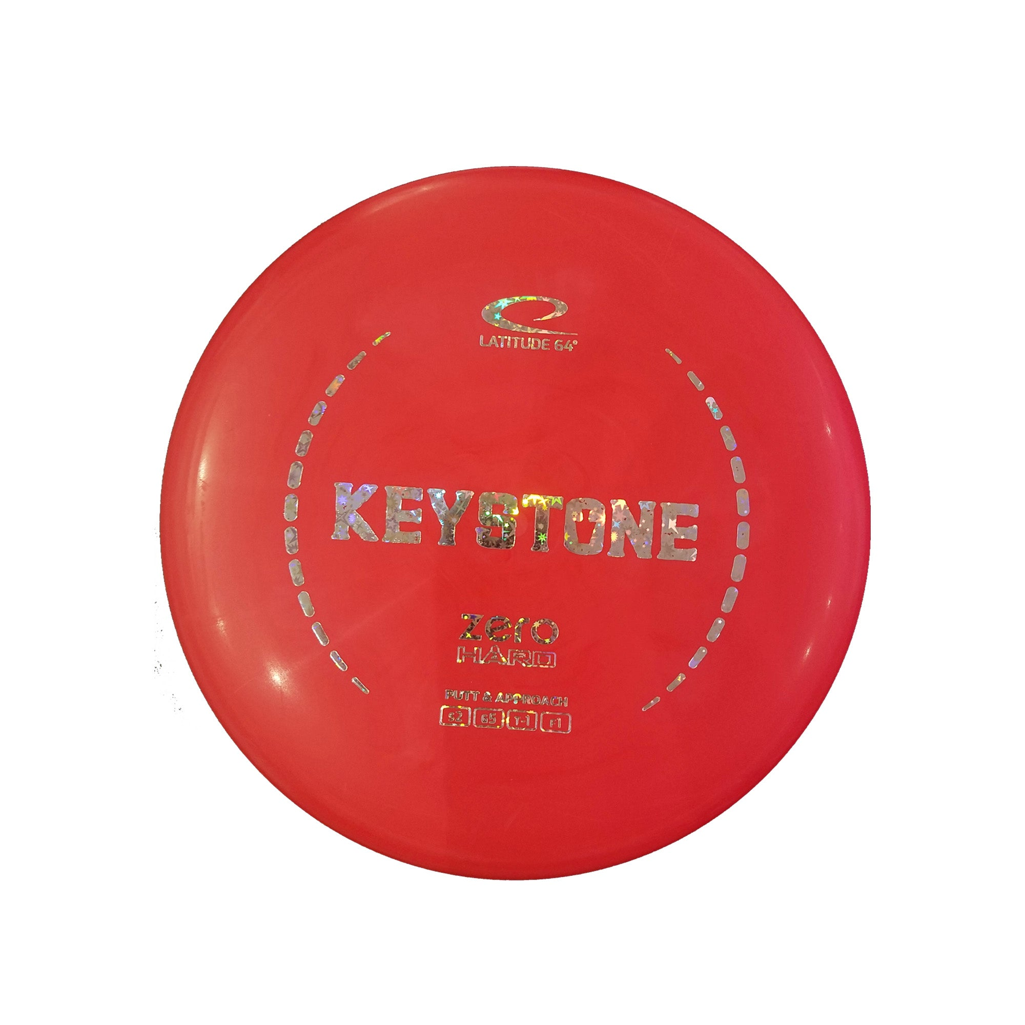 Latitude 64 Zero Hard Keystone Putter Disc - 174g