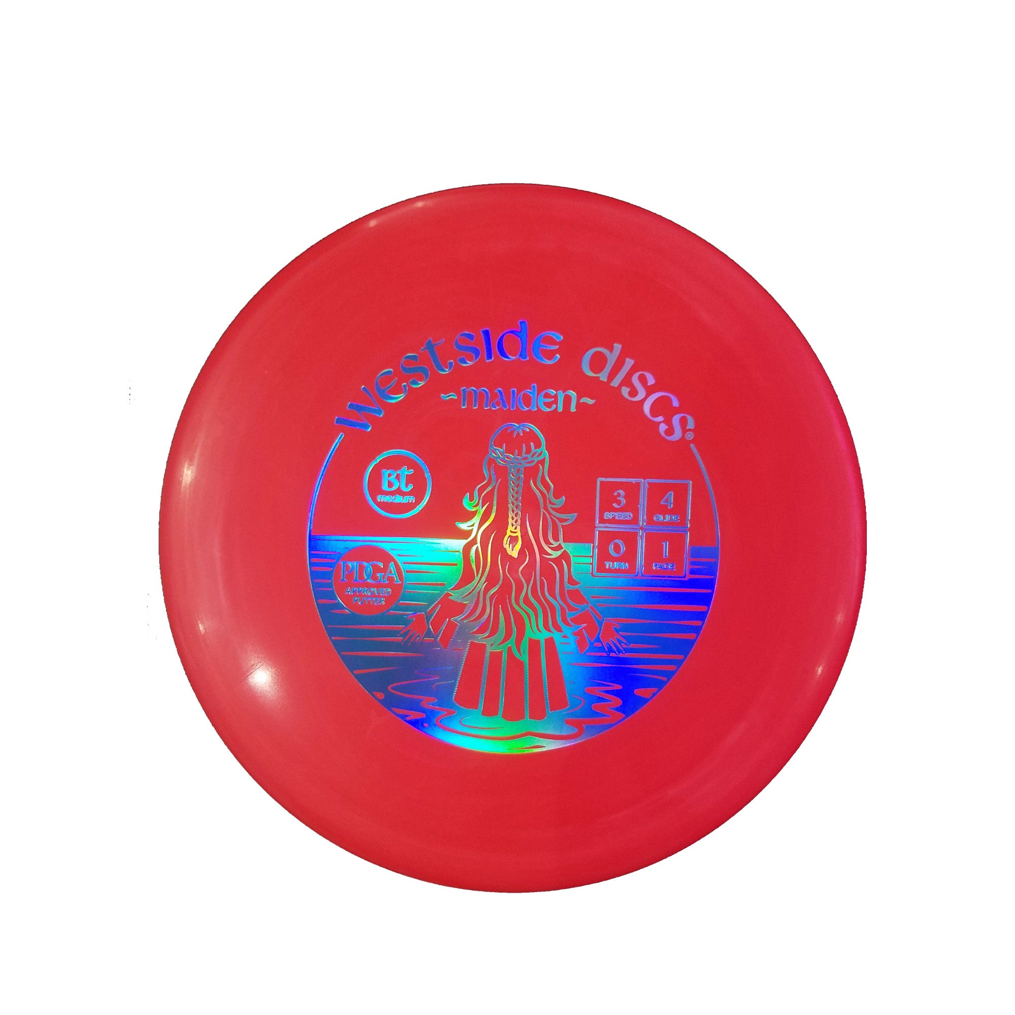 Westside Discs BT Medium Maiden Putter Disc - 173g