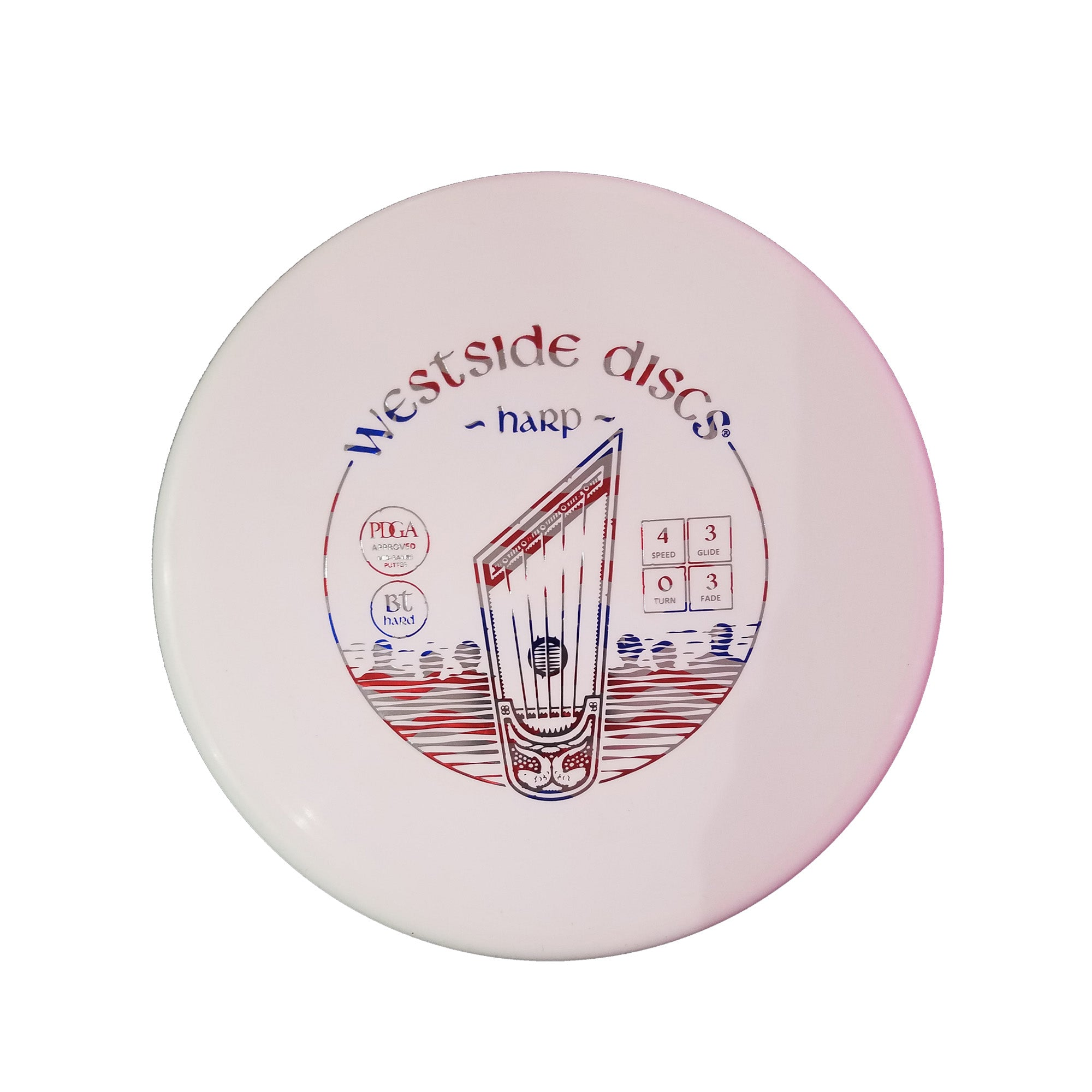Westside Discs BT Hard Harp Putter Disc - 173g