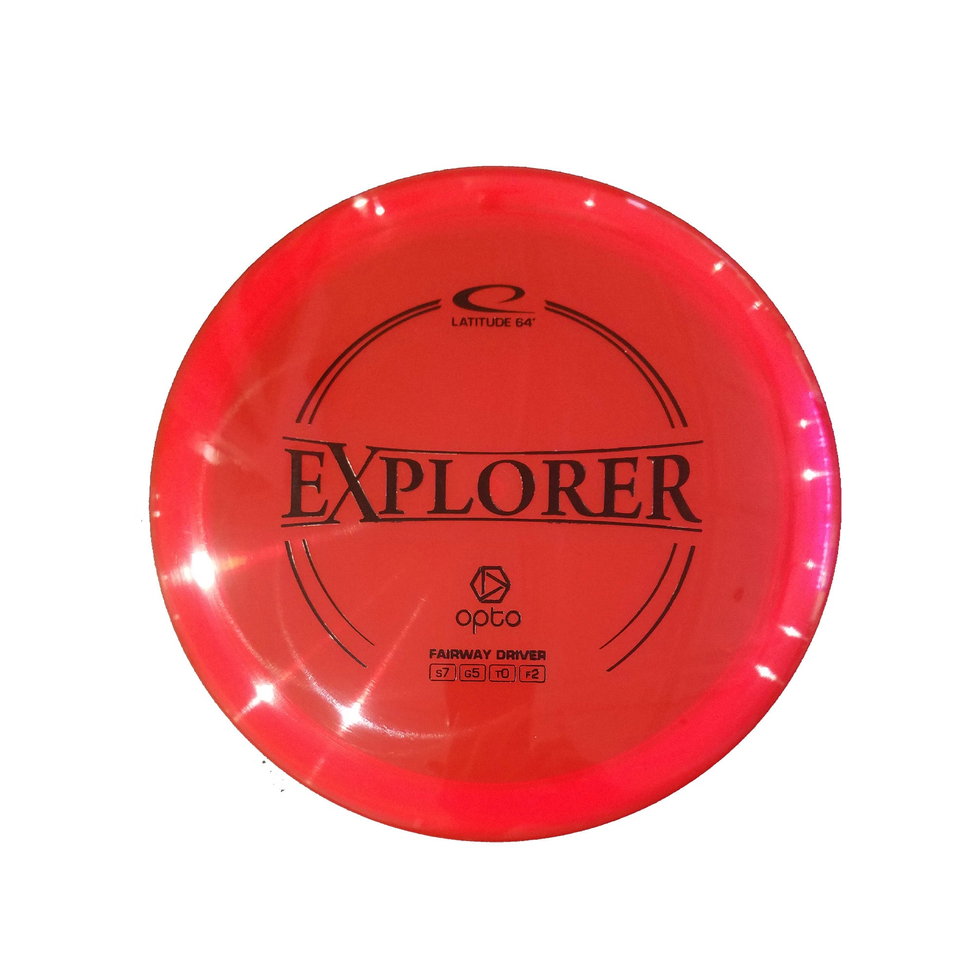 Latitude 64 Opto Explorer Fairway Driver Disc - 176g