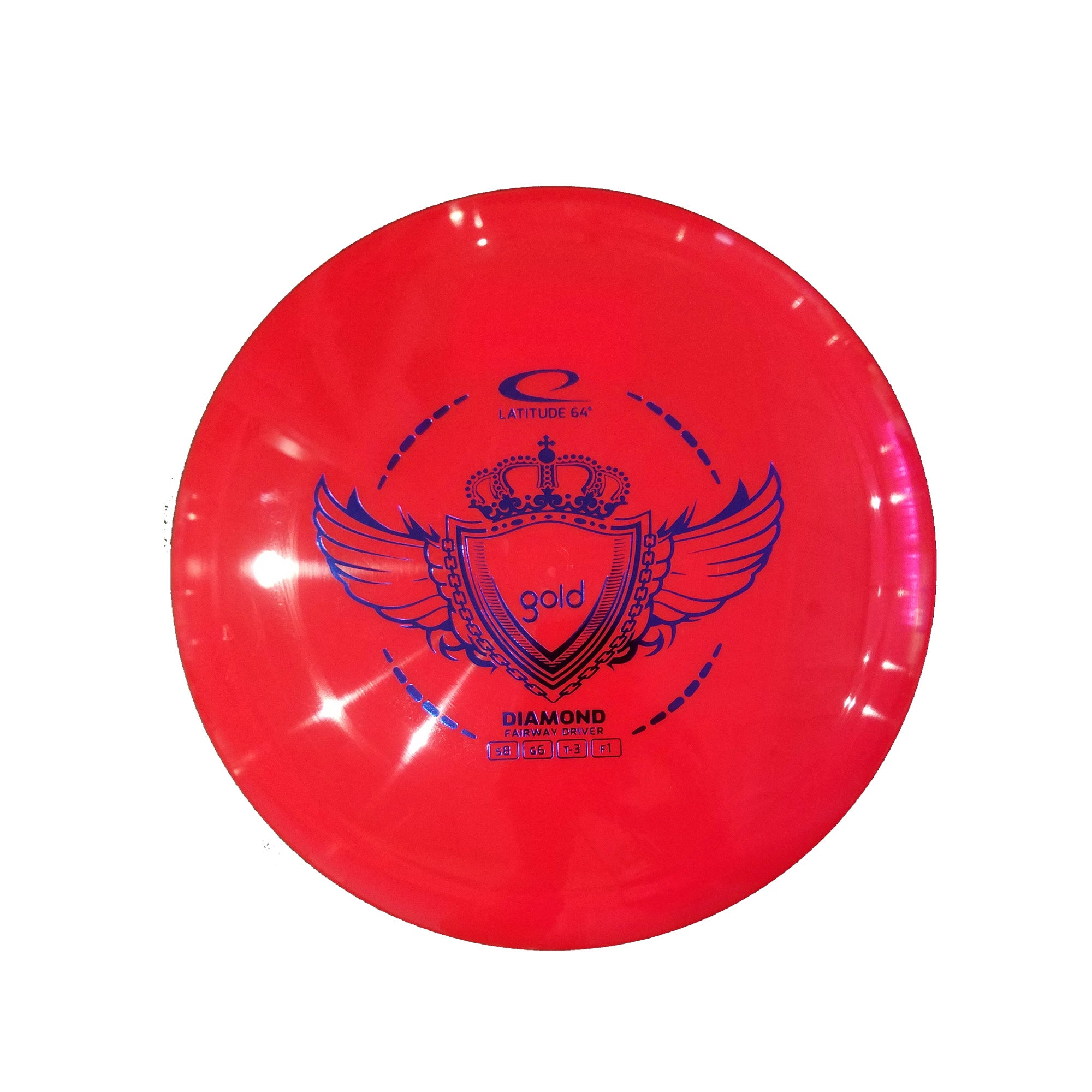 Latitude 64 Gold Diamond Fairway Driver Disc - 156g
