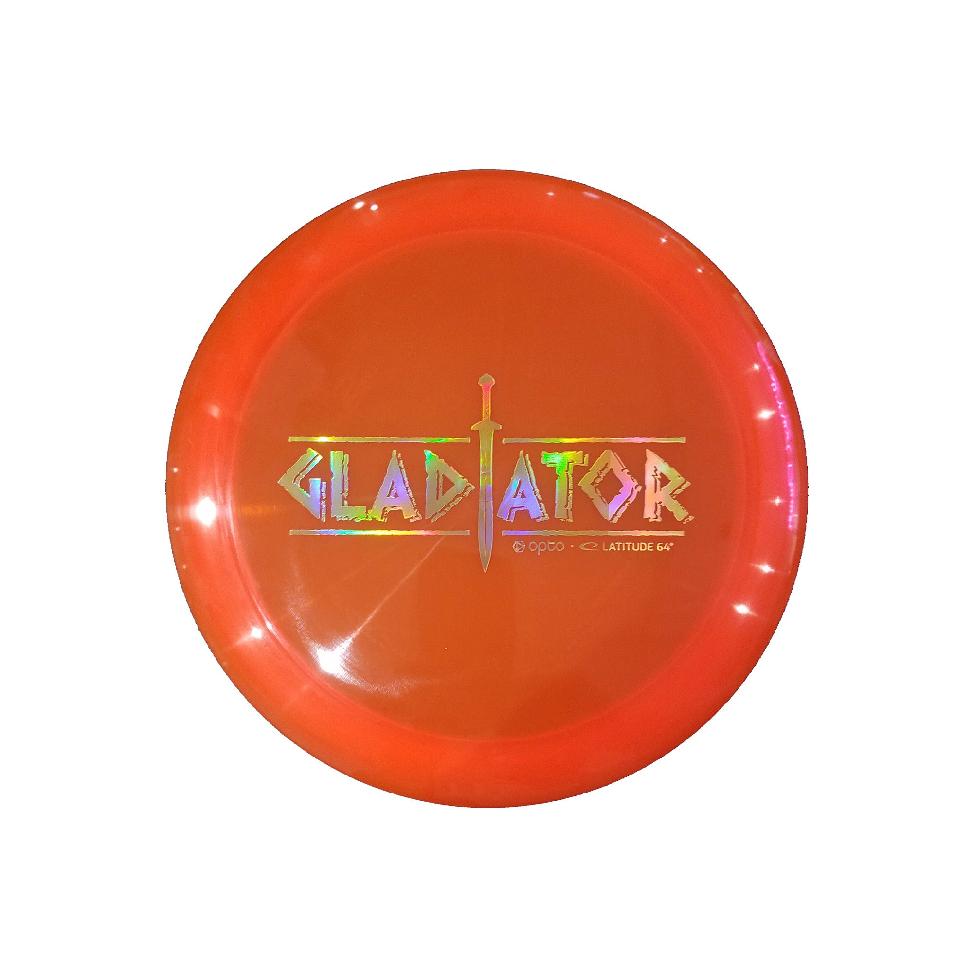 Latitude 64 Opto Gladiator Limited Edition Stamp Distance Driver Disc - 171g