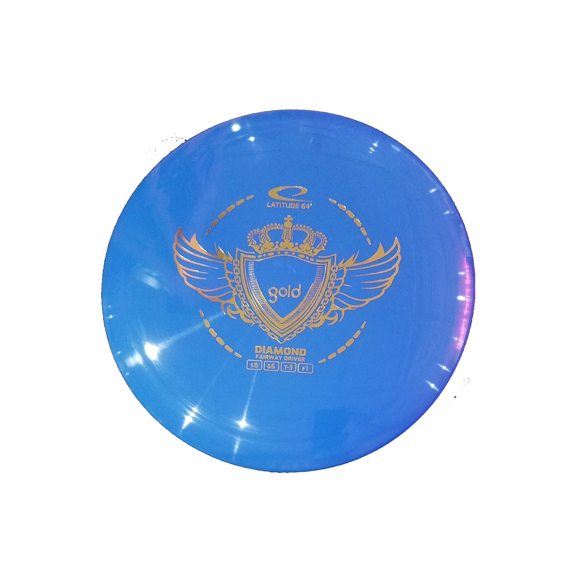Latitude 64 Gold Diamond Fairway Driver Disc - 155g