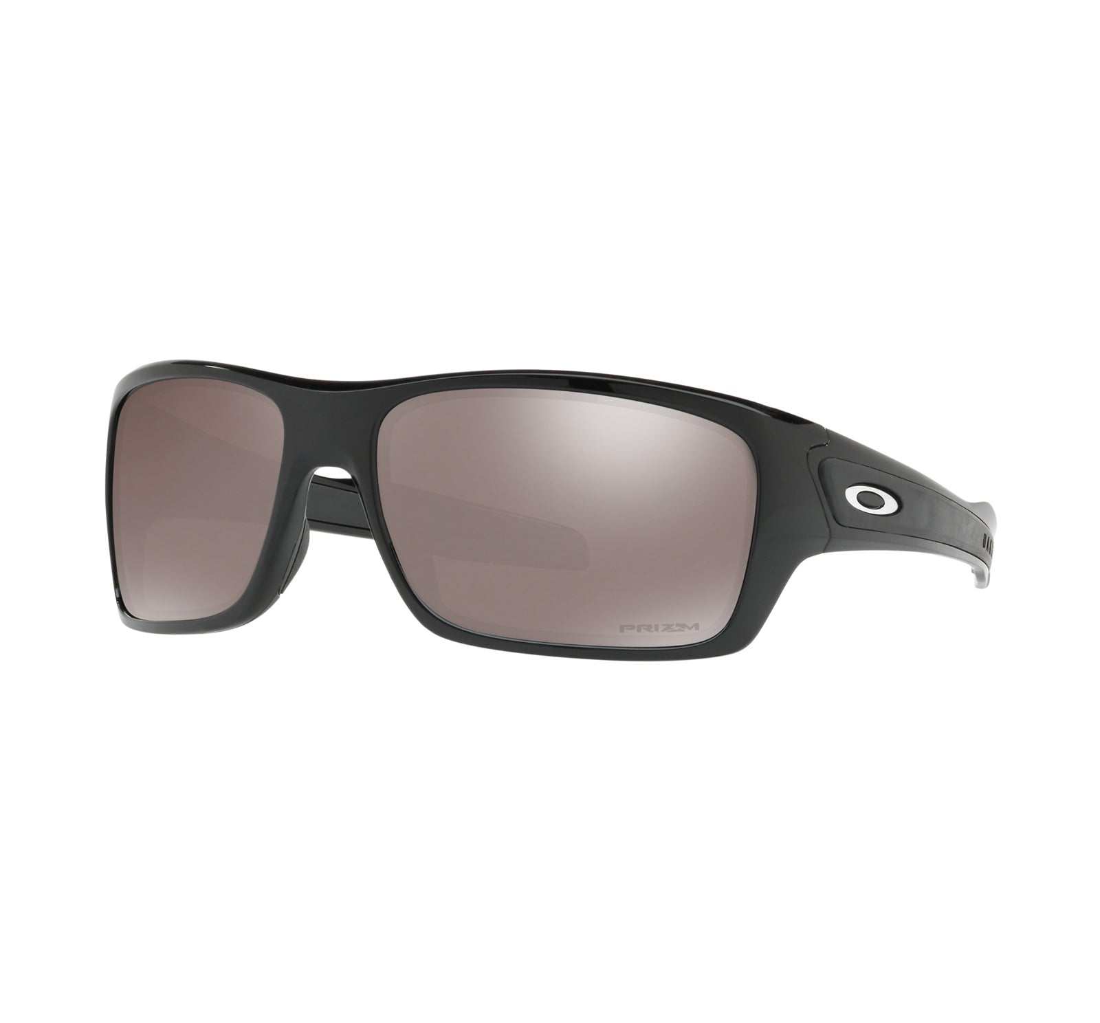 Oakley Turbine Men's Sunglasses - Polarized - Polished Black/Prizm Black