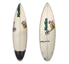 Clayton Shortboard 6'1 x 18 1/2 x 2 1/4 Used Surfboard (Con. for Gabe Kling)