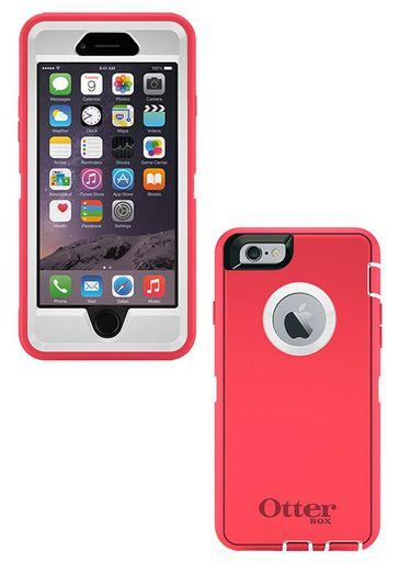 OtterBox Defender iPhone 6 Case - Neon Rose
