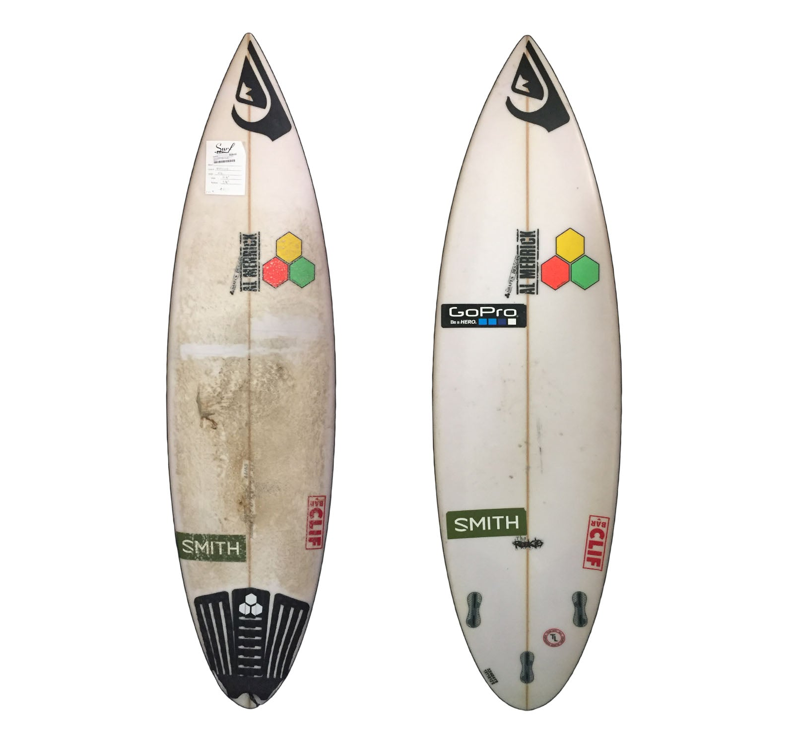 Channel Islands Proton 5'10 x 18 1/4 x 2 1/4 Used Surfboard (Team Custom For Lakey Peterson)