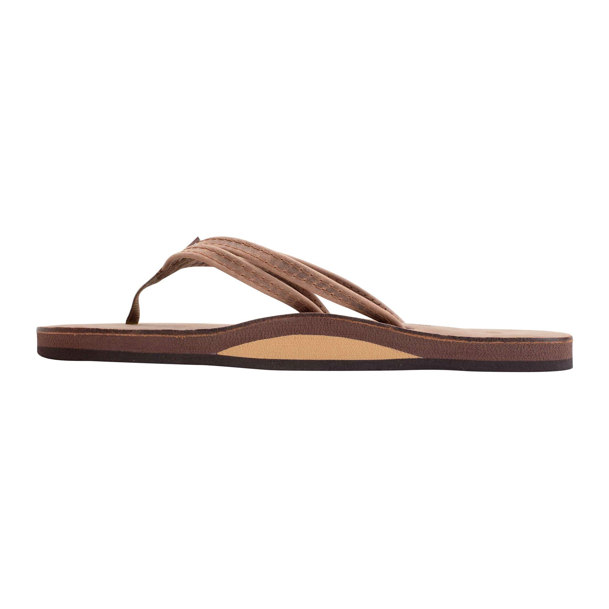Rainbow Sandpiper Double Strap Single Women's Sandals - Nogales Wood
