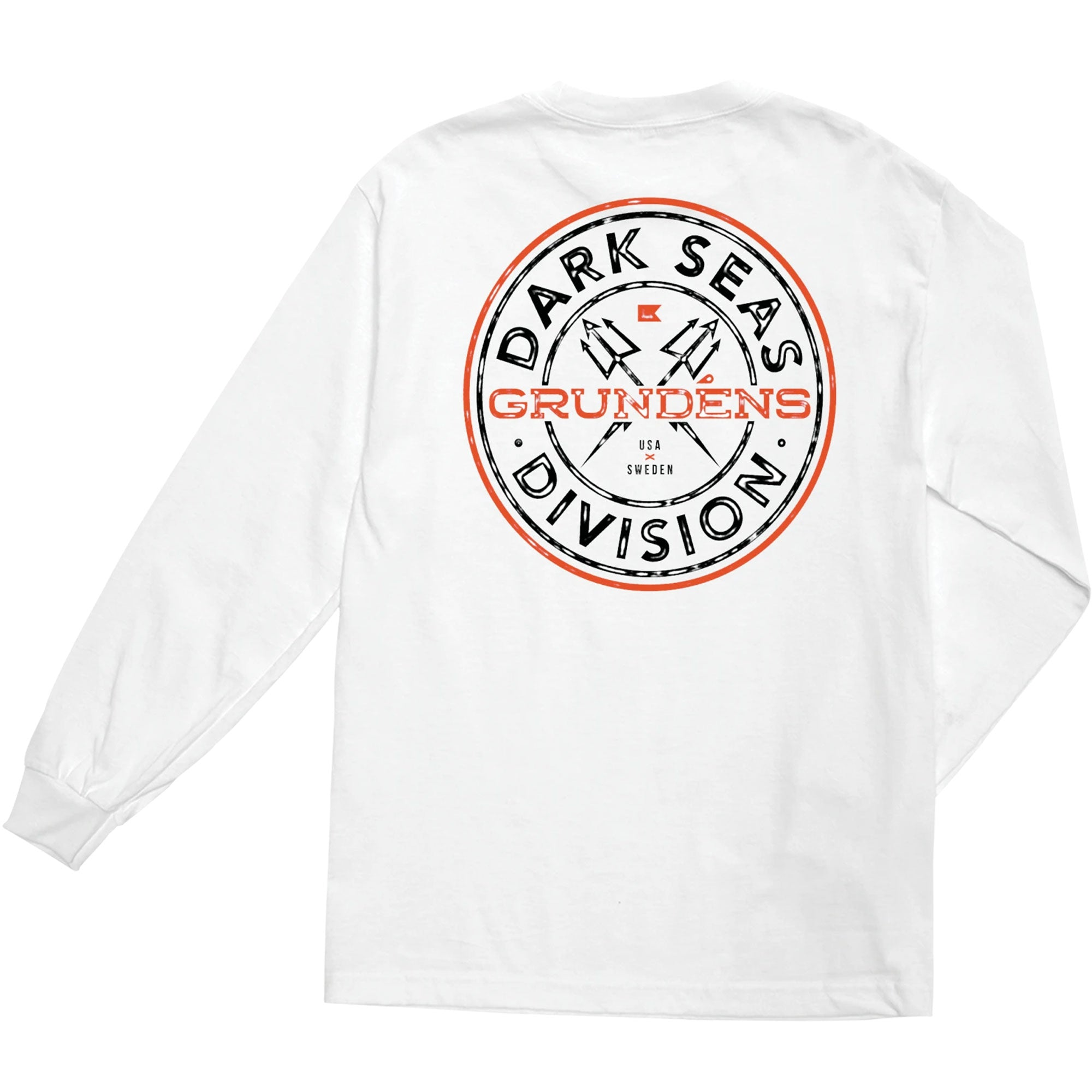 Dark Seas X Grundens Timeless Men's Premium L/S T-Shirt