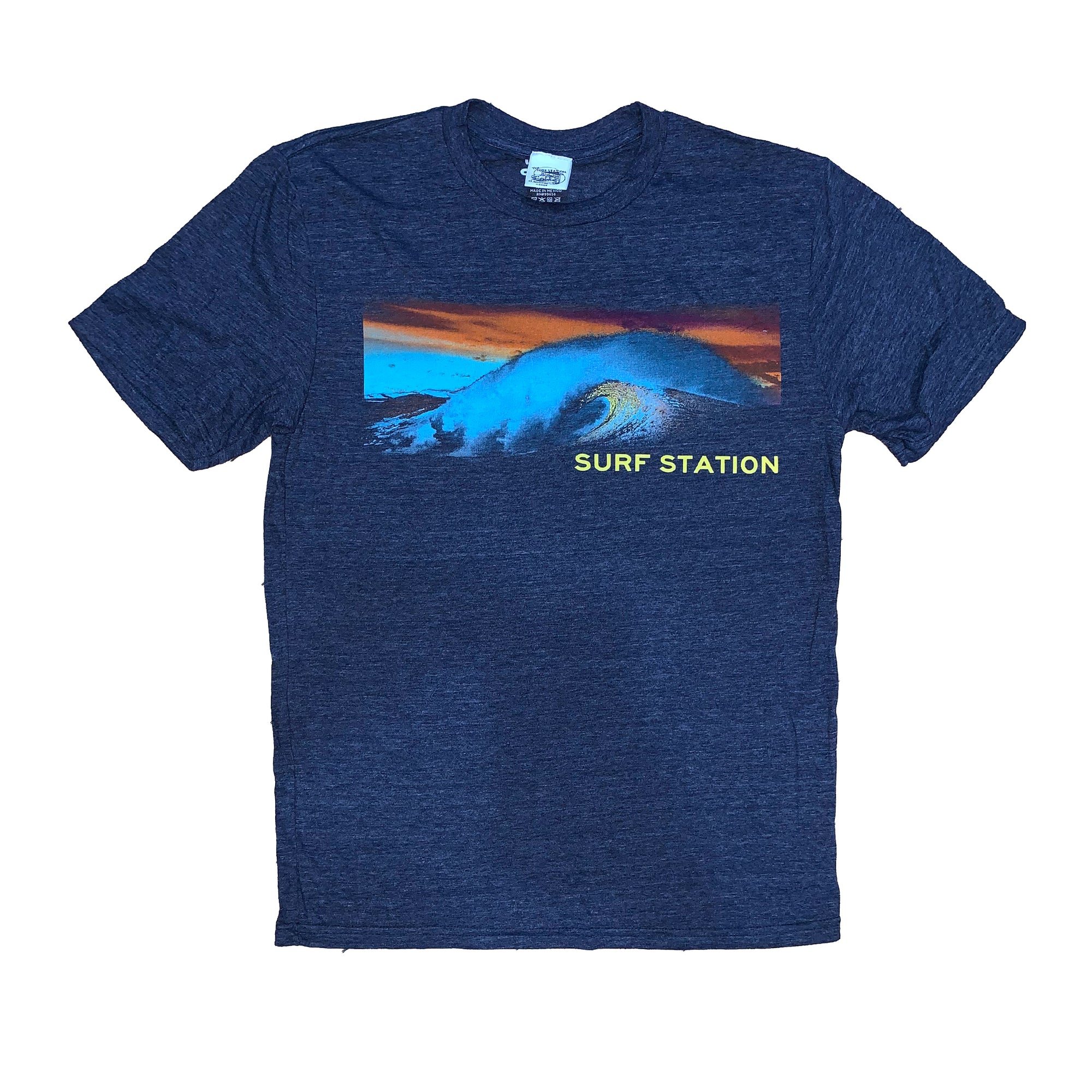 Surf Station New Wave Men's  S/S T-Shirt