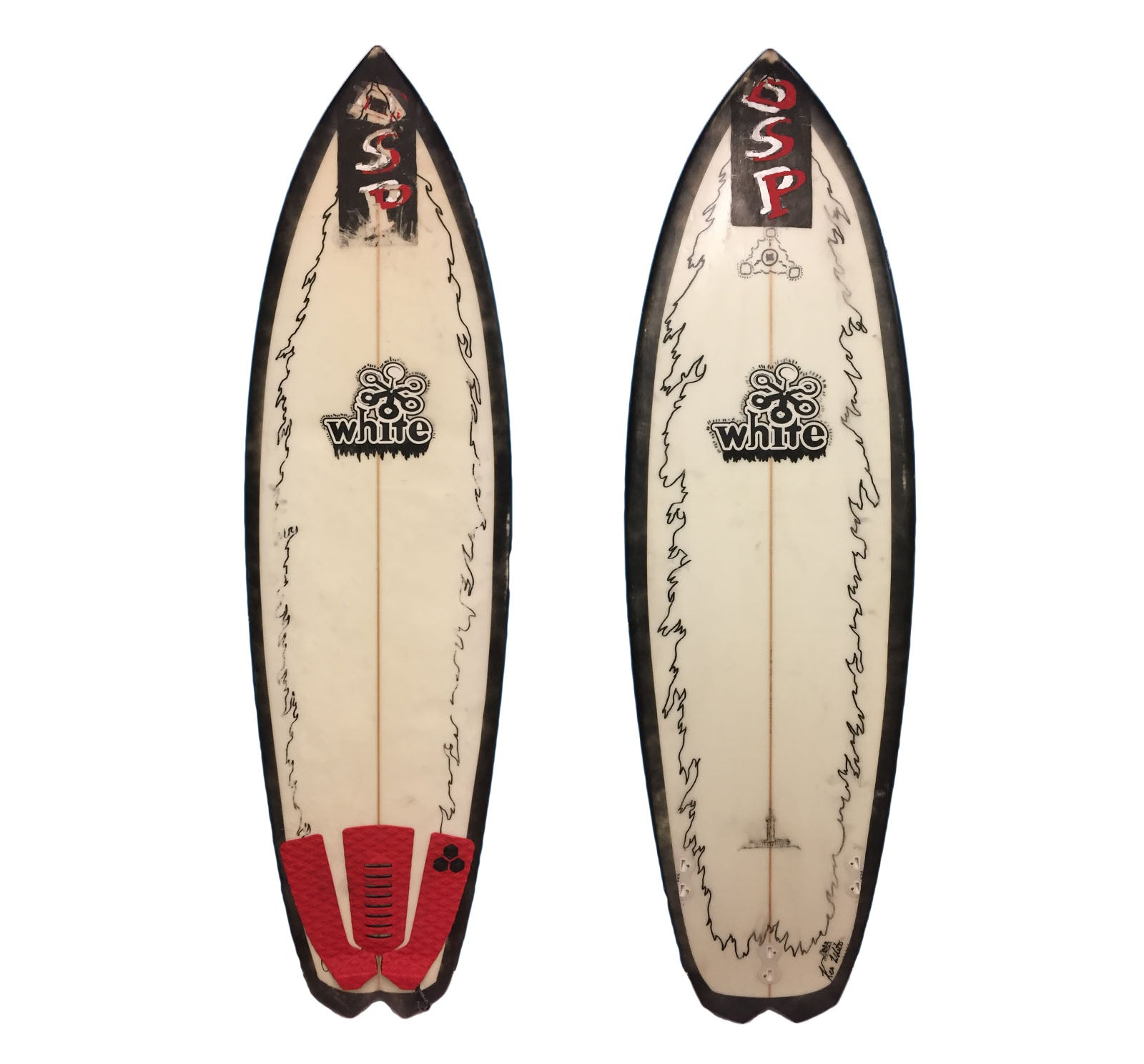 Ken White 5'8 Used Surfboard