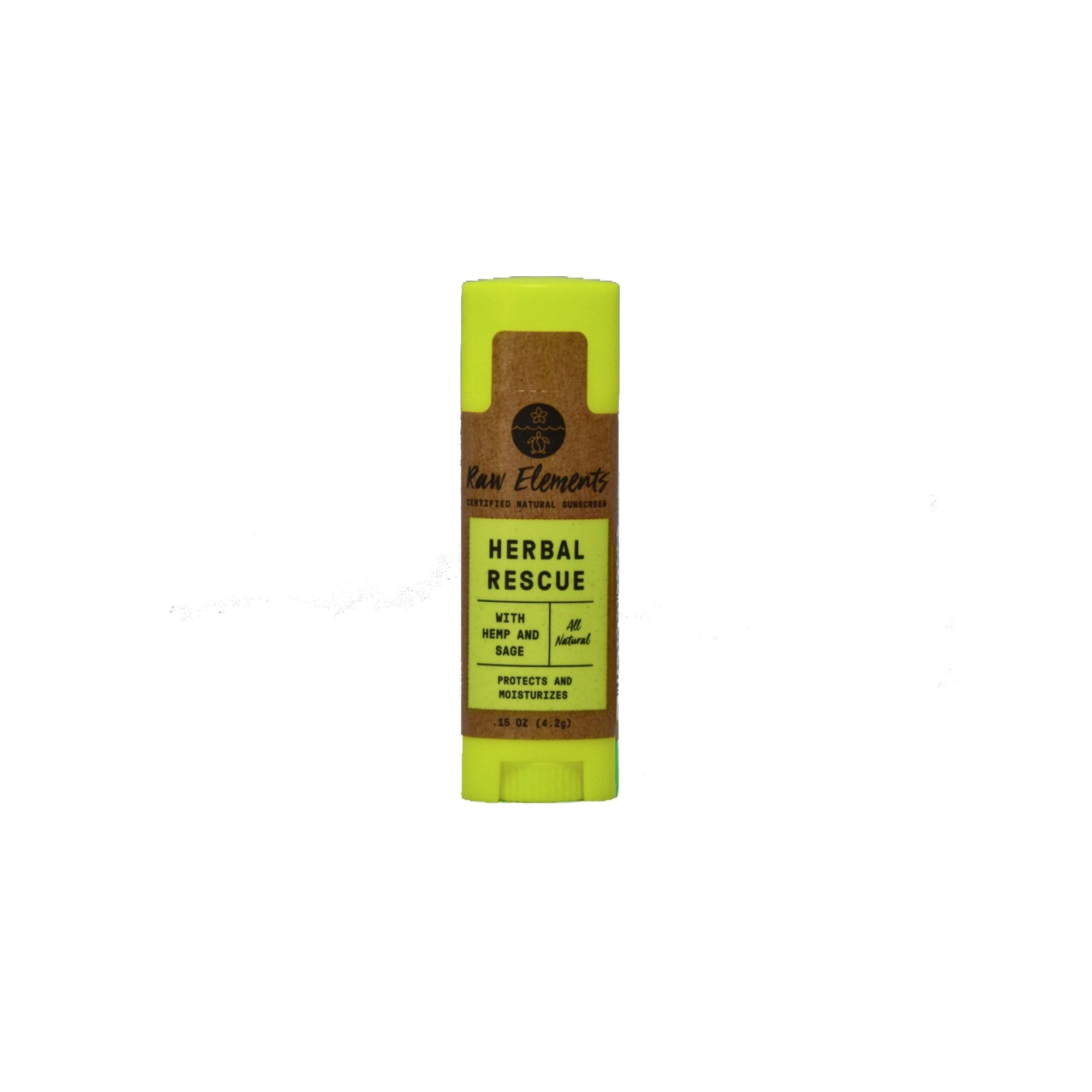 Raw Elements Herba Rescue Lip Balm