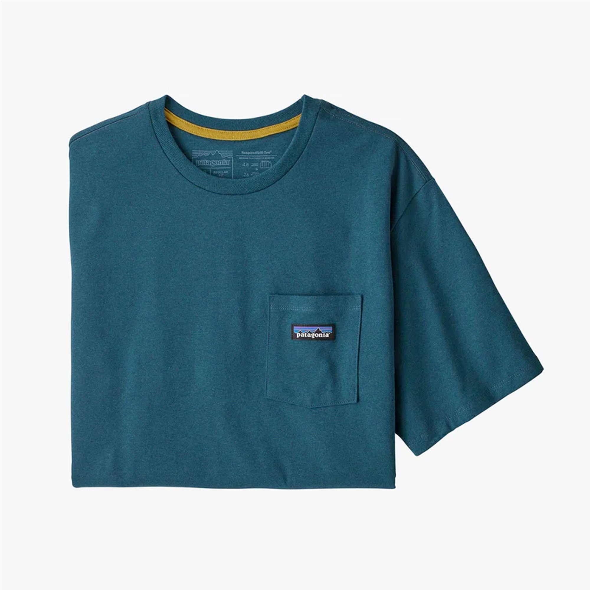 Patagonia P-6 Label Responsibili-Tee Men's S/S Pocket T-Shirt