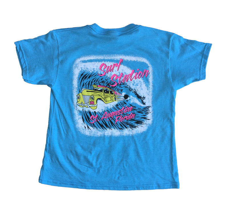 Surf Station Shooting Barrel Youth T-Shirt