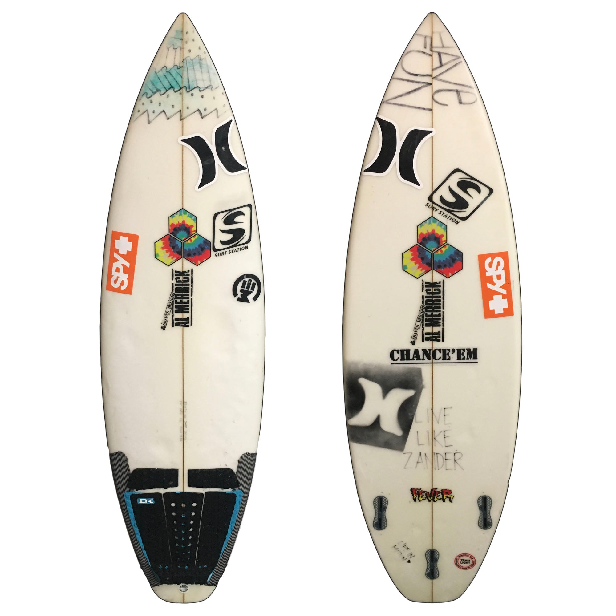Channel Islands Fever 5'0 Used Surfboard