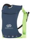 "DolfinPack Lightweight, Waterproof Hydration Pack (Version 2) "" Navy / Lime Green"