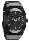 Nixon Don II Men's Watch - Black Band/Black Face