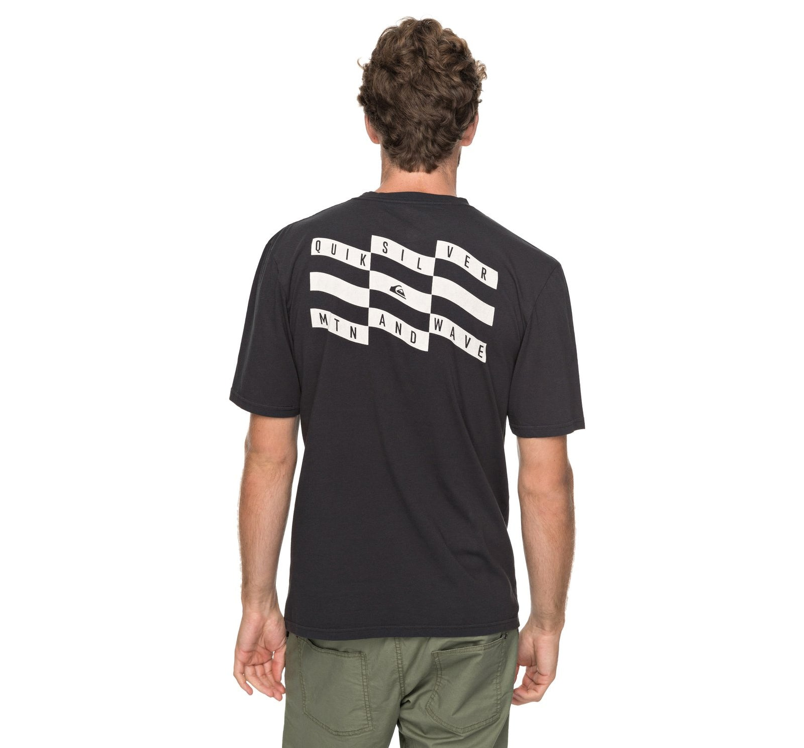 Quiksilver Bad Tuners Men's S/S Pocket Tee