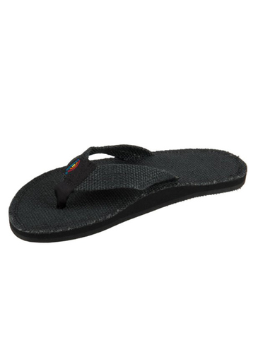 Rainbow Poche Women's Sandals - Black