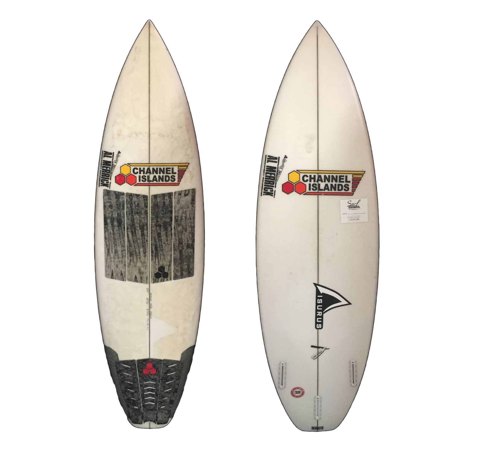 Channel Islands Fred Stubble 5'8 x 18 7/8 x 2 5/16 26.2L Used Surfboard (Team Custom For Lambert)