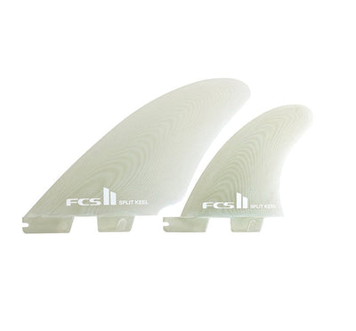 FCS II PG Split Keel Quad Fin Set