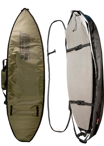 Channel Islands Travel Light CX3 Triple Boardbag - Army Green