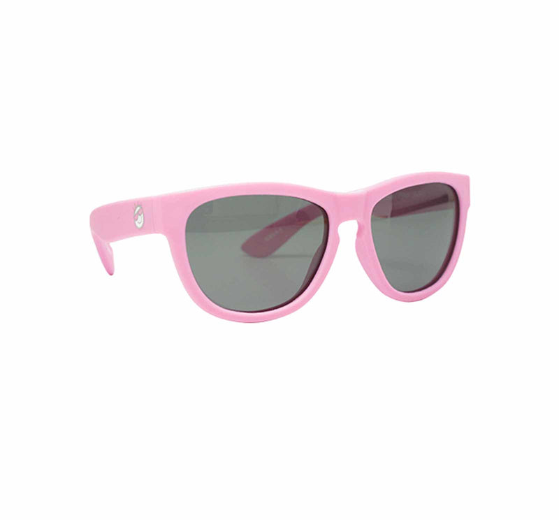 Mini Shades Classic Kid's Polarized Sunglasses (Ages 0-3) - Powder Pink