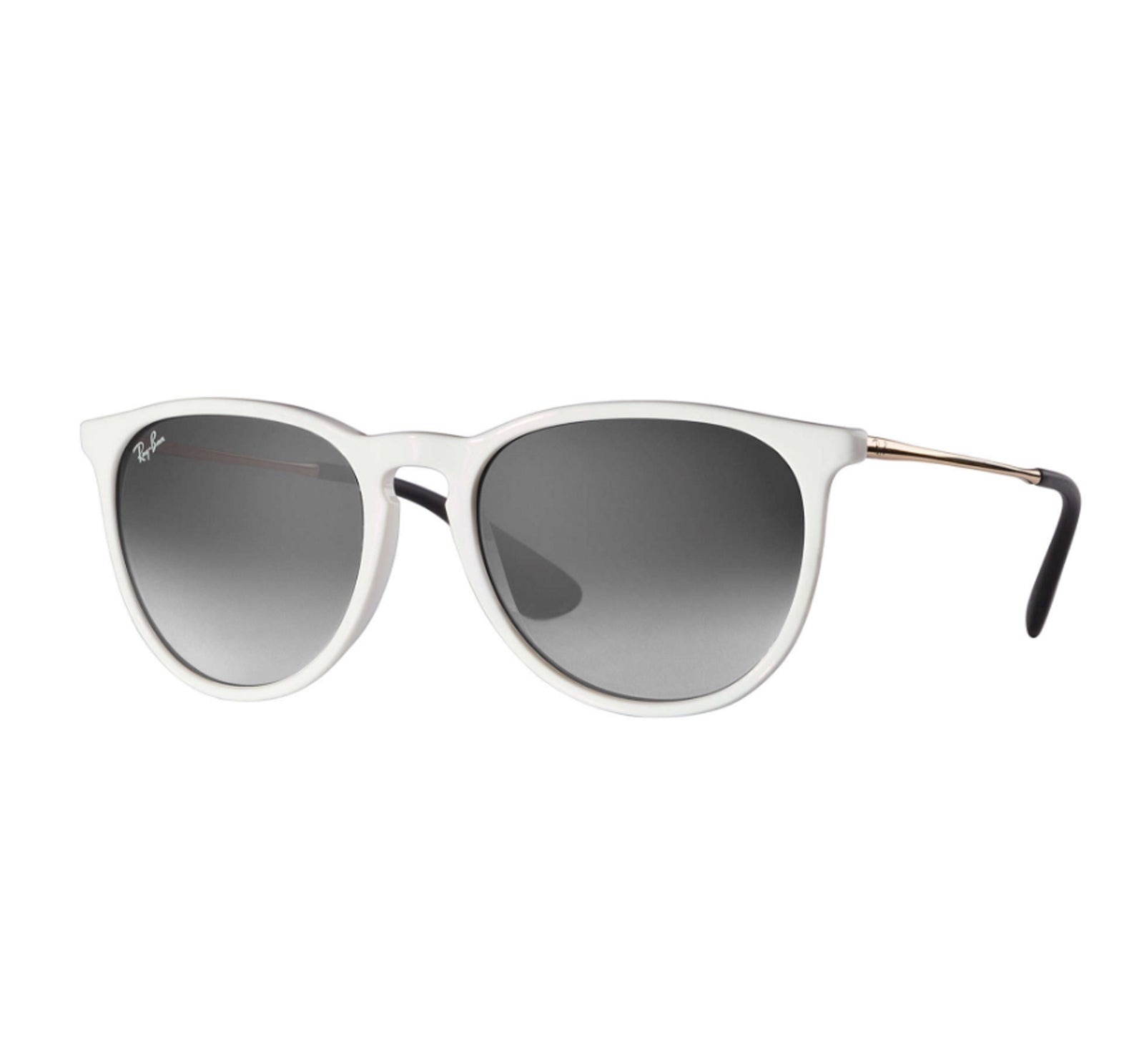 e183e8081b Ray-Ban Erika Women s Sunglasses - Shiny WhiteFrame Dark Grey Gradient -  Surf Station Store