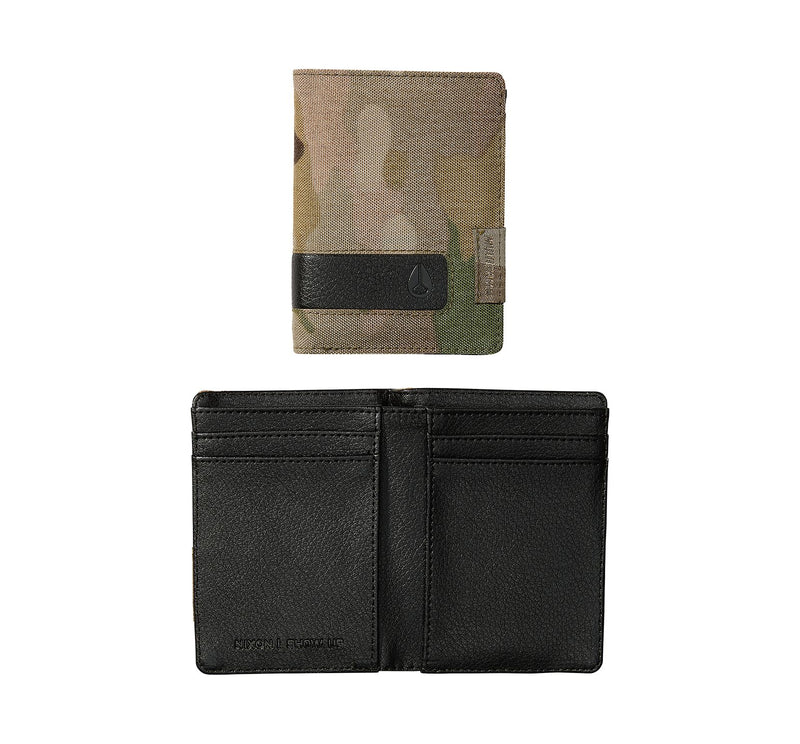 Nixon Showup Card Men's Wallet Multicam