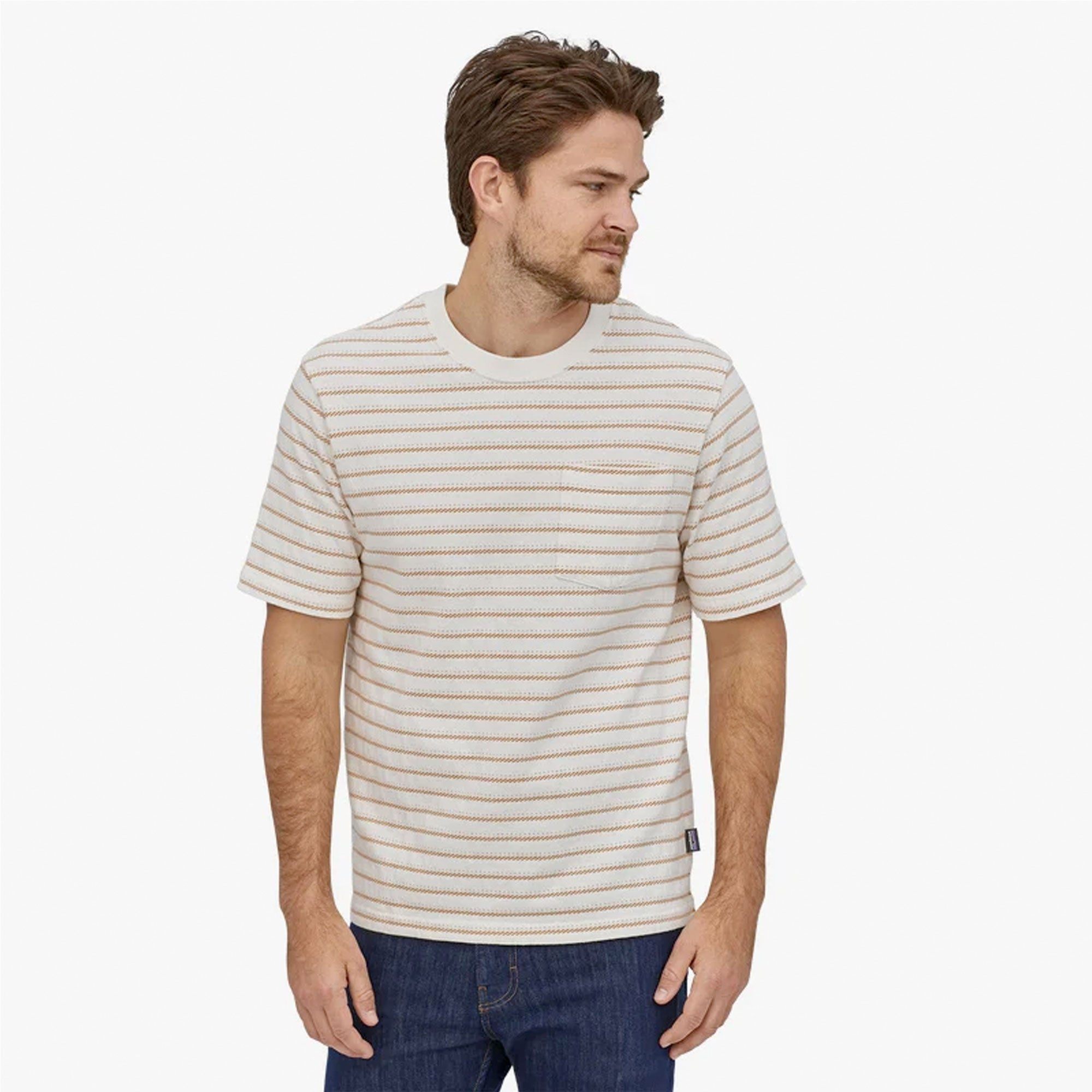 Patagonia Organic Cotton Mid-Weight Men's Pocket Tee