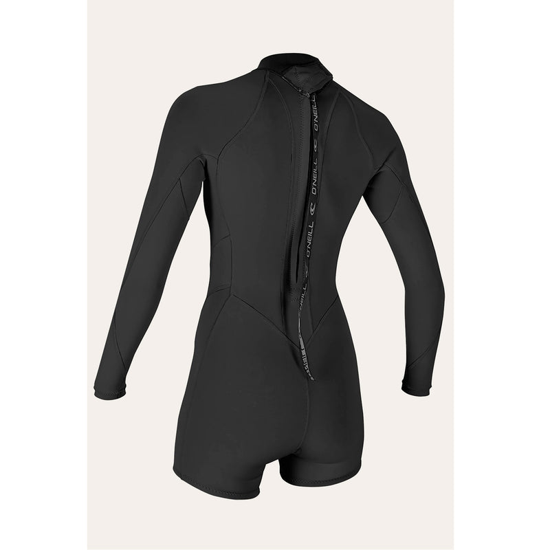 O'Neill Bahia 2/1mm Women's Back Zip L/S Spring Suit
