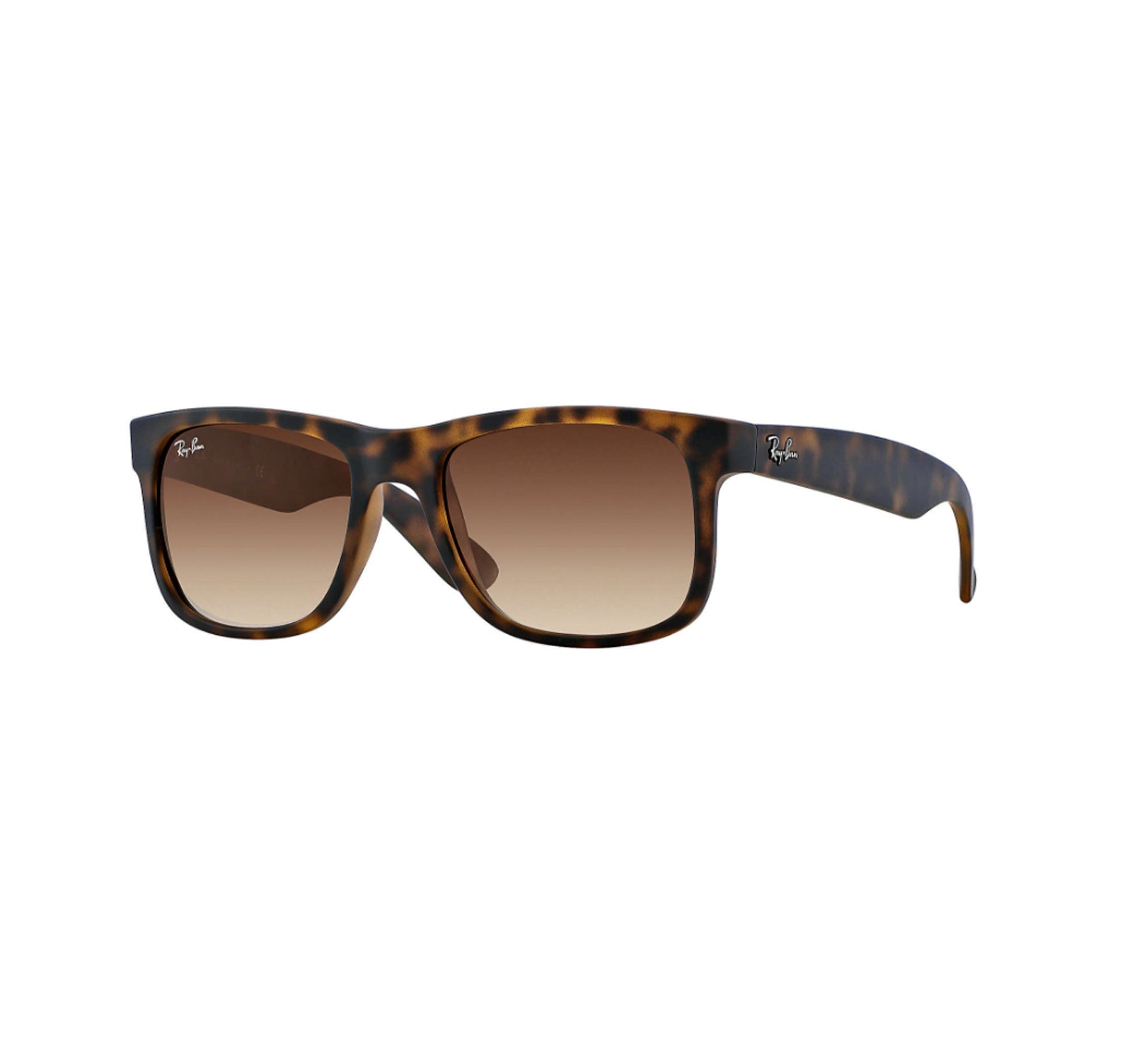 e6ccf13d953 Ray-Ban Justin Men s Sunglasses - Rubber Tortoise Frame Brown Gradient - Surf  Station Store