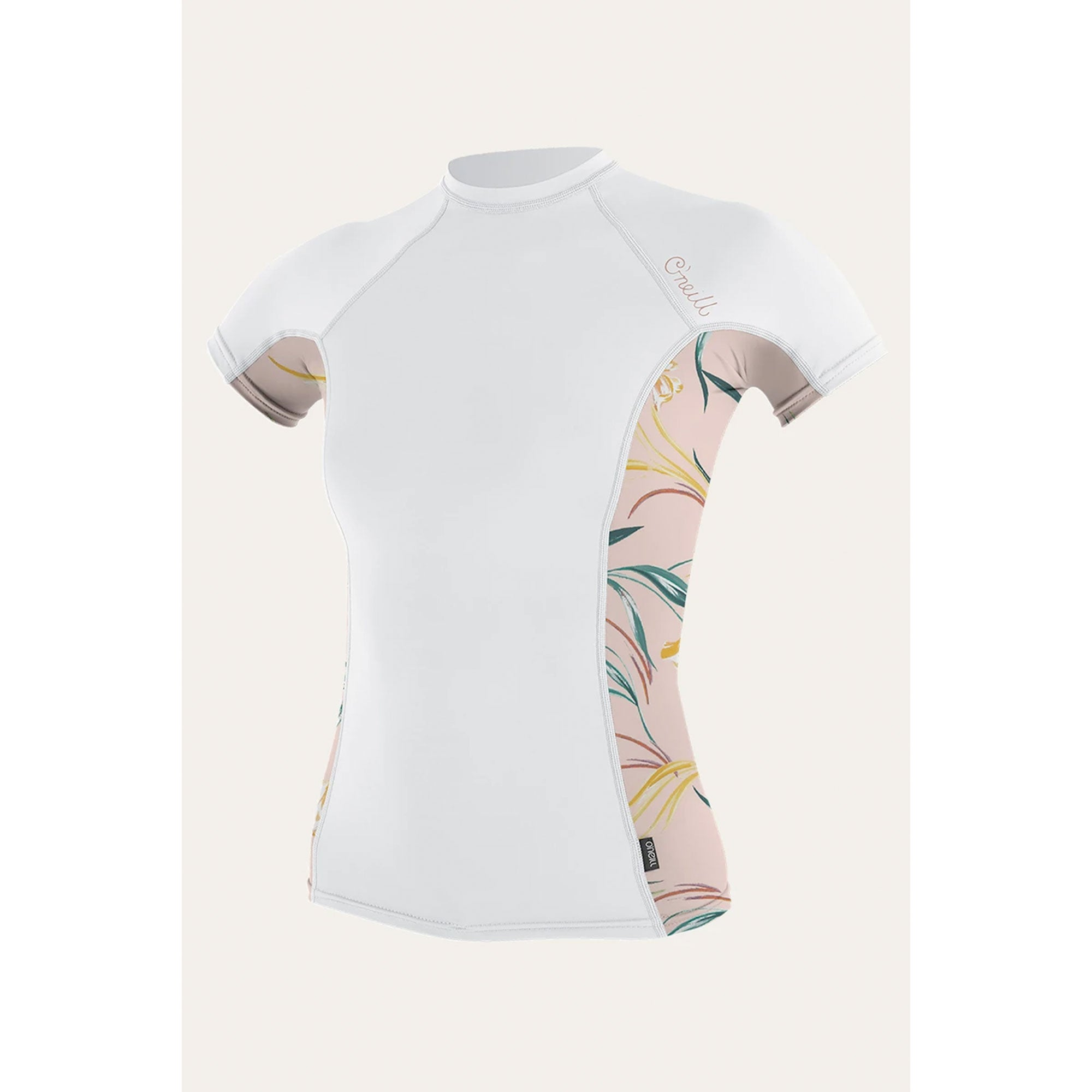 O'Neill Women's Side Print S/S Rash Guard