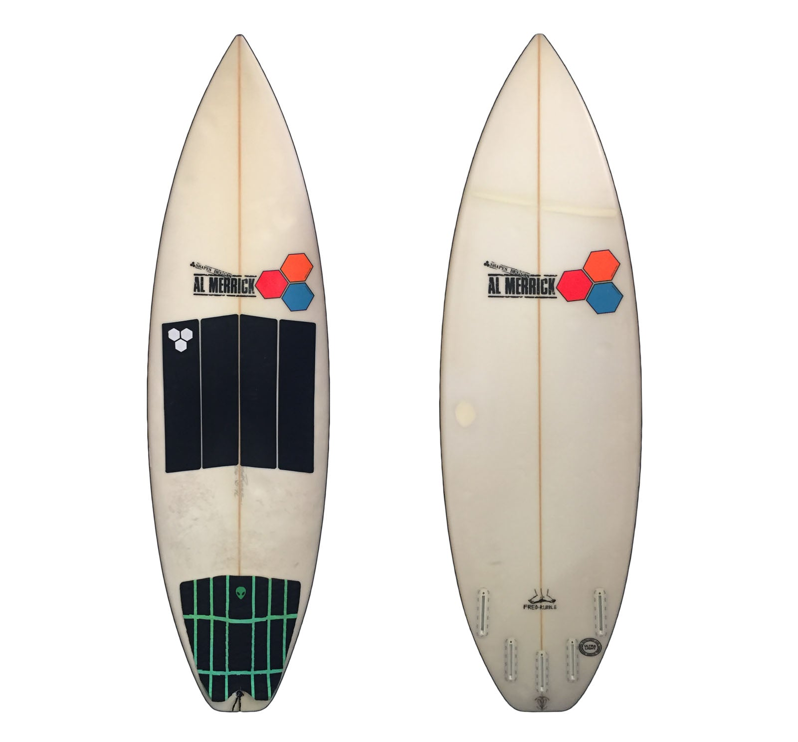 Channel Islands Fred Rubble 5'6 Used Surfboard