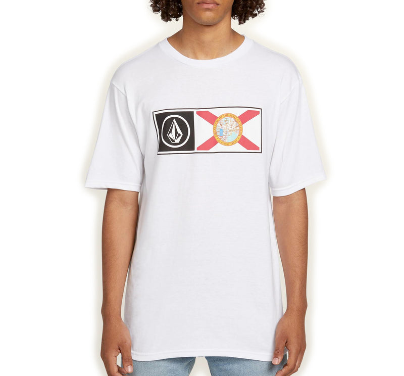 Volcom Florida Flag Men's S/S T-Shirt