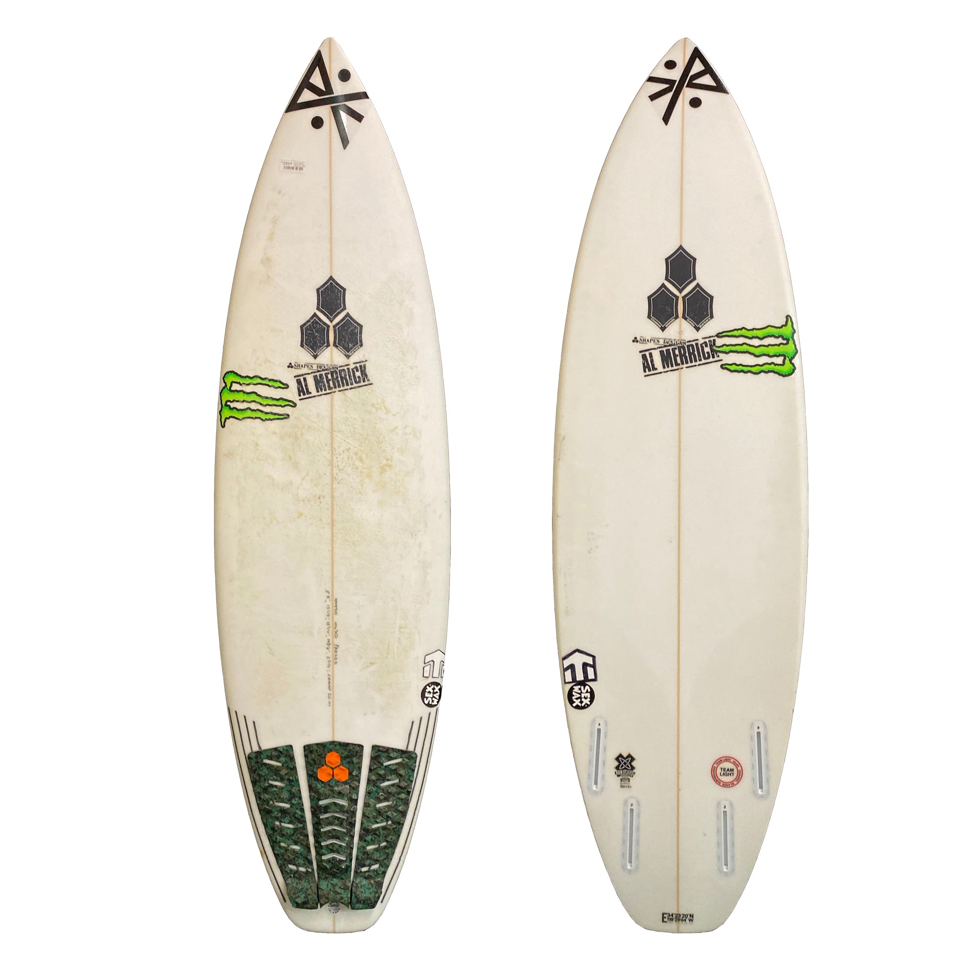 Channel Islands Champ 5'8 Used Surfboard